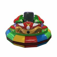 Custom Made Amusement Park Bumper Cars For Children Play Single Player Manufactures