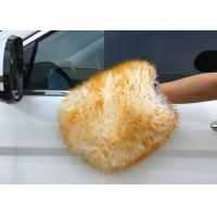 China Sheepskin Car Wash Mitt Lambs Wool Car Wash Mitt Genuine Merino Sheepskin on sale