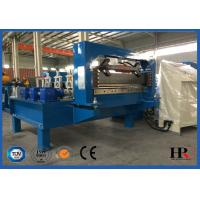 Metal Window / Door Frame Cold Roll Forming Machine With Hydraulic Cutting Manufactures