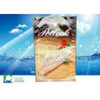 Moisture Proof Recyclable Seafood Pouch with Ziplock ,Plastic Bag Pouch Manufactures