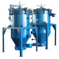 China VPLF series Mini Edible crude oil refinery plant apply cooking oil leaf filter machine at low price on sale