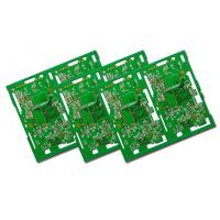China Different Layer PCB Immersion Gold Surface Fnishing With FR4 Material on sale