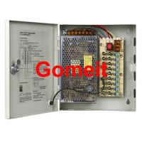 9 Channel Camera Power Supply 12vdc , High Efficiency CCTV Camera Dc Power Supply Manufactures