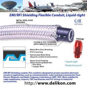 hazardous location Braided liquidtight flexible metal conduit,flexible conduit,conduit connector Manufactures