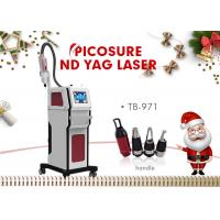 1320nm / 1064nm / 532nm Nd Yag Laser Tattoo Lipline Acne Removal Machine Manufactures