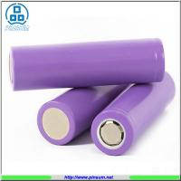 Buy cheap 18650  lithium ion cylinder battery 3.7V 2000/2200/2400/2600mah battery cell 5C discharge rate from wholesalers