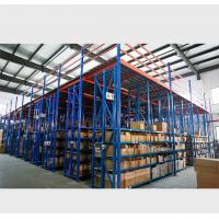 Heavy - Duty Attic Rack Supported Mezzanine Floor For Warehouse / Factory Manufactures