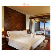 Iririki Resort Hotel & Spa Queen Bed Bedroom Furniture With Local Culture Manufactures