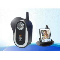 Digital Audio Residential Video Intercom 2.4GHz For Household Security Manufactures