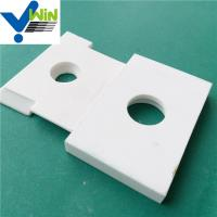 Quality High temperature resistance alumina oxide ceramic and porcelain tile for sale