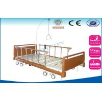 Semi Fowler Electric Nursing Beds , Automatic Patients Ambulance ICU Bed Manufactures