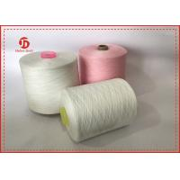 China 40/2 Raw White Paper Cone Ring Spun 100% Polyester Yarn AA GRADE on sale
