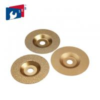 Fiber Glass And Marble Diamond Cup Wheel Grinding Disc 100 - 180 Mm Size