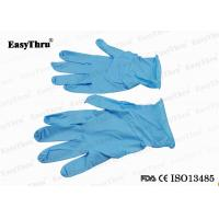 Blue Nitrile Disposable Medical Latex Gloves For Gynecological Examination Surgical Manufactures