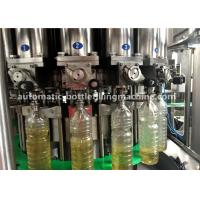 China 3.5Kw Rotary Sealing Sunflower Auto Oil Filling Machine 5000BPH on sale