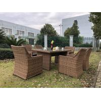 Big Size Comfortable Rattan Outdoor Sofa Dining Set Wicker Furniture Manufactures