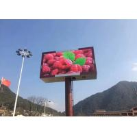 Dynamic LED Outdoor Signs , P10 Outdoor LED Display Signs with 960xh960mm Panel Manufactures