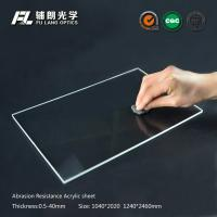 Robot partitions with abrasion resistant acrylic sheet for aluminum extrusion Manufactures