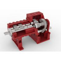 High Strength Twin Screw Extruder Gearbox With Cast Iron Material Manufactures