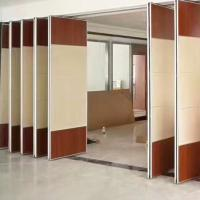 Divide Space Movable Door Track Roller Hotel Sliding Partition Walls Soundproof Panels Manufactures