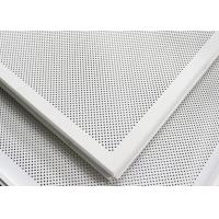 Soundproof Perforated Lay In Ceiling Tiles Floating / 2x2 Ceiling Panels For hall decoration Manufactures