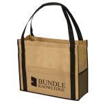 Customized Reusable Non Woven Handbag Laminated Bags Good Breathability Manufactures
