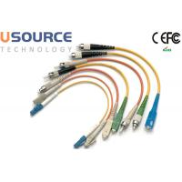 Multi Mode Fiber Patch Cord Armored 4 12 48 Core For Telecommunication Manufactures
