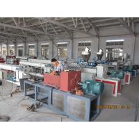 Fiber Reinforced Soft PVC Pipe Extrusion Machine 80-450kgs / h Manufactures
