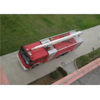 Max Power 320KW Water Tower Fire Truck 20m Working Height With Mechanical Seal Manufactures