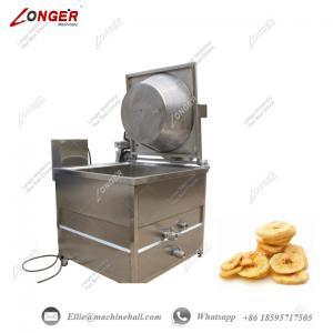 Buy cheap Banana Chips Frying Machine Plantain Chips Fryer Equipment Banana Chips Fryer from wholesalers