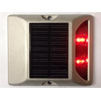 2 LEDs Solar LED Road Stud 800M Visual Distance 5000mcd-8000mcd Luminous intensity Manufactures