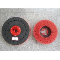 """Rotary Floor Cleaning Machine Brushes , 19""""  Size Disc Diamond Abrasive Brush Manufactures"""
