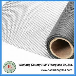 China 20x20 pvc coated anti insect fiberglass plain woven fly screen mesh on sale