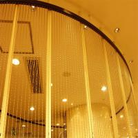 Hot sale Long+Bead Metal Ball Chain Curtain For Room Divider Manufactures