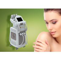 China Skin Care Multifunction Beauty Machine Vertical E Light Ipl Machine With 4 Handles on sale