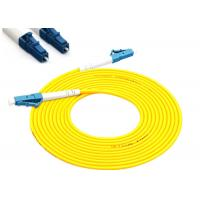 3M Single Mode Fiber Patch Cables LC To LC 3mm Simplex In Yellow Color Manufactures