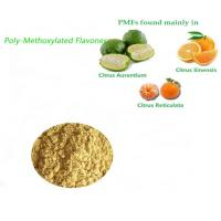 China Dietary Supplements Poly-Methoxylated Flavones Extract Powder Cholesterol-lowering on sale