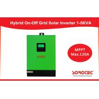 Single Phase 1kva - 5kva Hybrid Solar Inverter for solar panels , pure sine inverter Manufactures