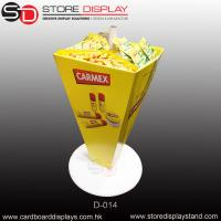 Quality dumpbin unit display stand for snacks for sale