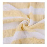 China Anti Bacterial Open Weave Muslin Fabric , Muslin Quilt Fabric 90-120gsm Comfortable on sale