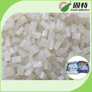 Transarent Bookbinding Double film Coated Paper Side Glue Hot Melt Pellet EVA Hot Melt Adhesive Manufactures
