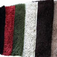 Chenille Cotton Bath Mat Carpets, Shaggy Pattern, Various Colors and Sizes Available Manufactures