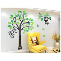 Room Decorative wall stickers tree acrylic wall stickers monkey tree wall decals Manufactures