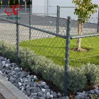 Anping Xinlong electric galvanized or hot dipped galvanized/PVC chain link fence for sale
