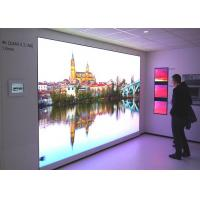 Extremely small pixel pitch 0.9mm indoor advertising led video wall screen / P0.9mm UHD high definition led panel Manufactures