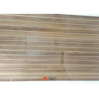 Quality Customized Wall Decoration Wood Grain MDF Board With White Caved Line for sale