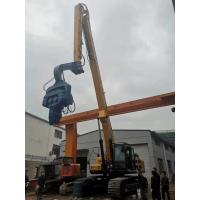 Multifunctional Sheet Pile Driving Machine Silence Operation Easy Maintenance Manufactures