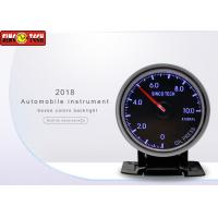 China Racing Car Oil Pressure Gauge , Oil Pressure Meter 0 - 1000 Kpa With LED / Buzzer Warning on sale