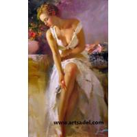 100% Handmade Portrait- Masterpiece Reproduction Oil Painting on Canvas Manufactures
