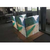 Waterproof Outdoor Full Color Led Screen P10 6500cd/sqm Brightness 1920Hz Refresh Rate Manufactures